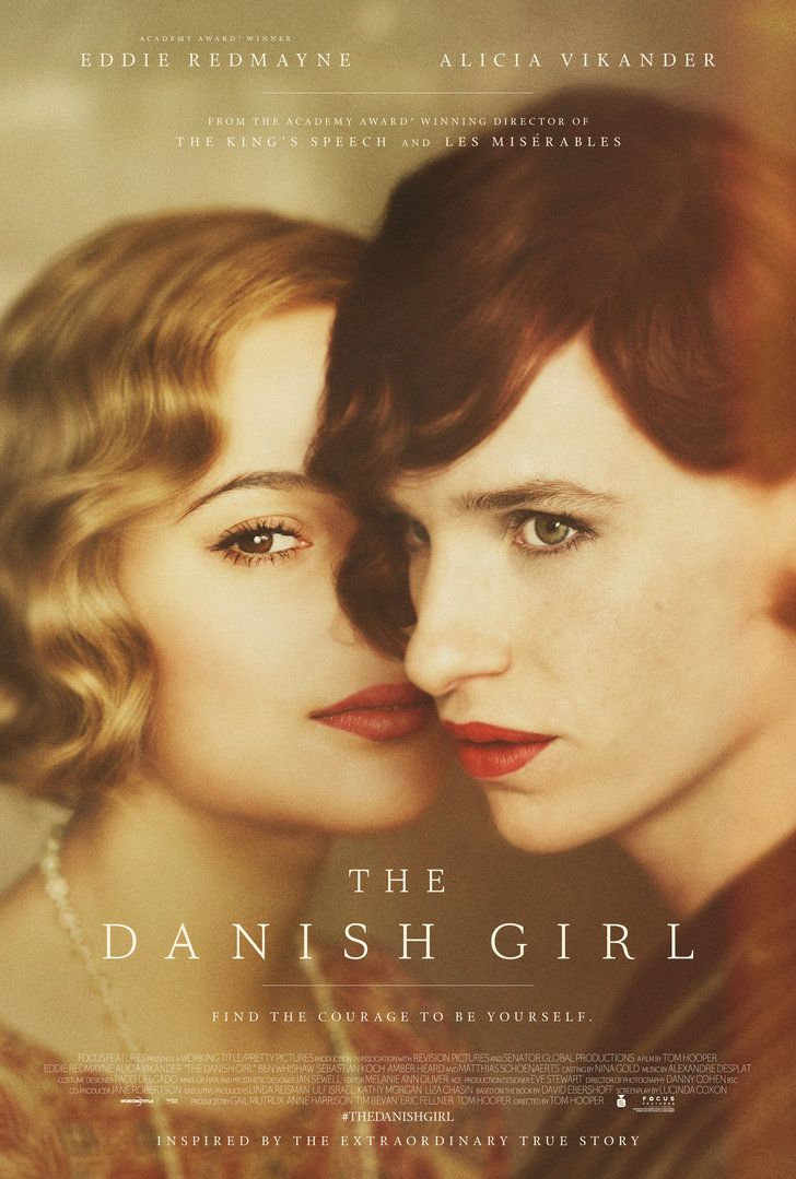 Alicia Vikander and Eddie Redmayne in The Danish Girl.
