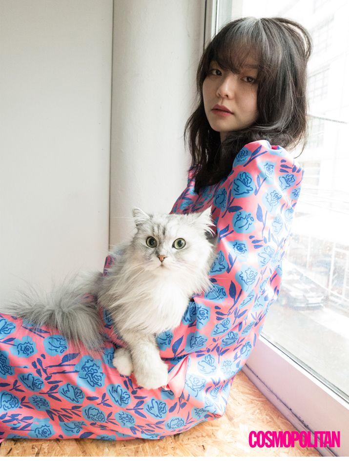 Yi Som // Cosmopolitan Korea