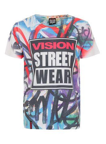 Vision Streetwear Grafiti T-shirt* - Men's T-Shirts - Clothing