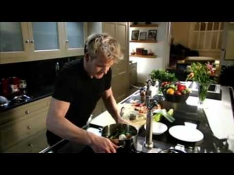 How to make fresh chicken stock - Gordon Ramsay  cooking pro