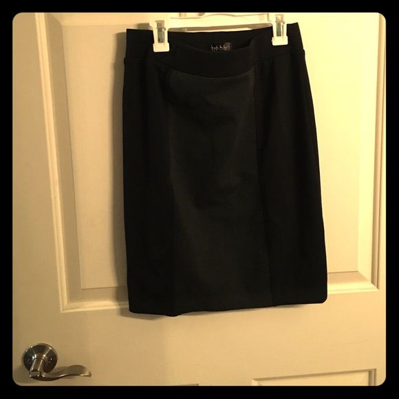 Black and gray pencil skirt Black and gray pencil skirt Nicole Miller Skirts Pencil