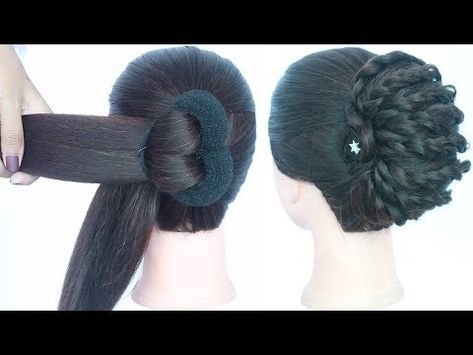 new latest messy juda hairstyle || trending hairstyles || hairstyle 2019 || new …