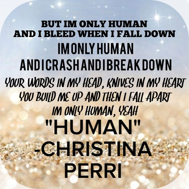 Christina Perri new song Human, lyrics | {Soundtrack to ...