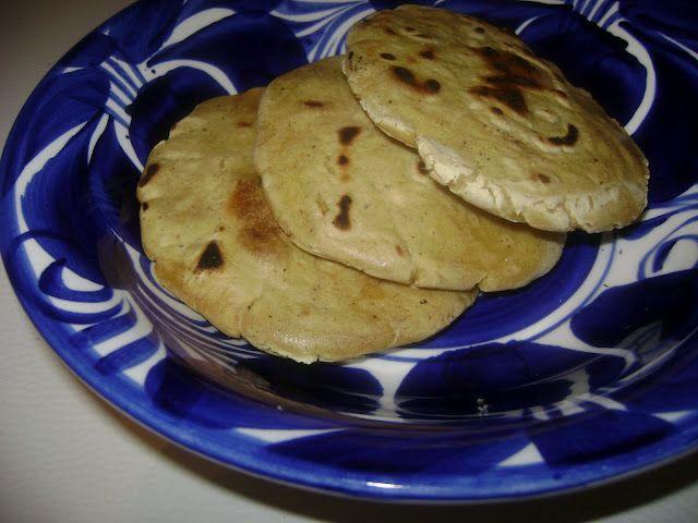 Gorditas    Ingredients:      2 cups Maseca masa harina   1-1/4 cups water   1/4 teaspoon salt