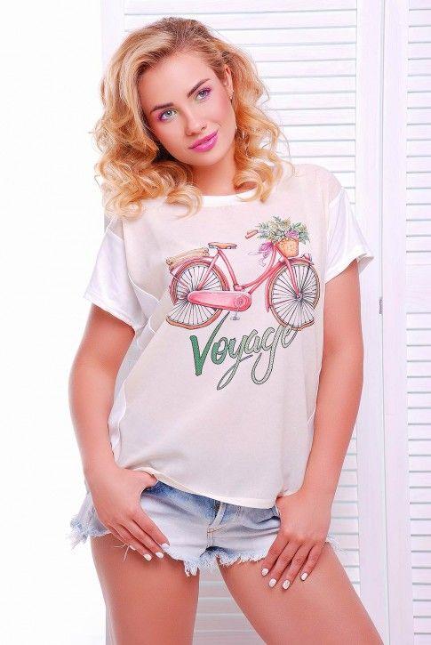 #футболка #велосипед #voyage