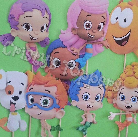 17 best ideas about bubble guppies centerpieces on pinterest bubble guppies party bubble - Bubble guppies center pieces ...