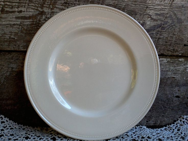 """WHITE LARGE DINNER Plate,""""Charger Plate"""", Royal Stafford, 11'"""