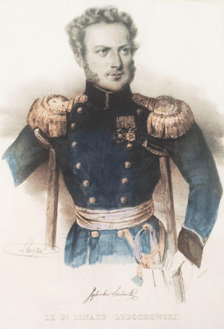 Generał Ignacy Hilary Ledóchowski 1789 -1870, Obrońca Modlina, Powstanie listopadowe