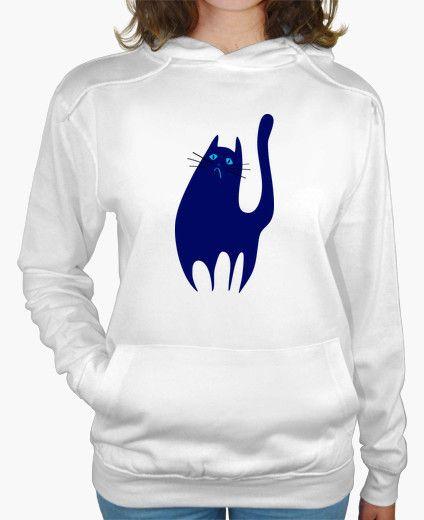 Camiseta El Gato Triste y Azul