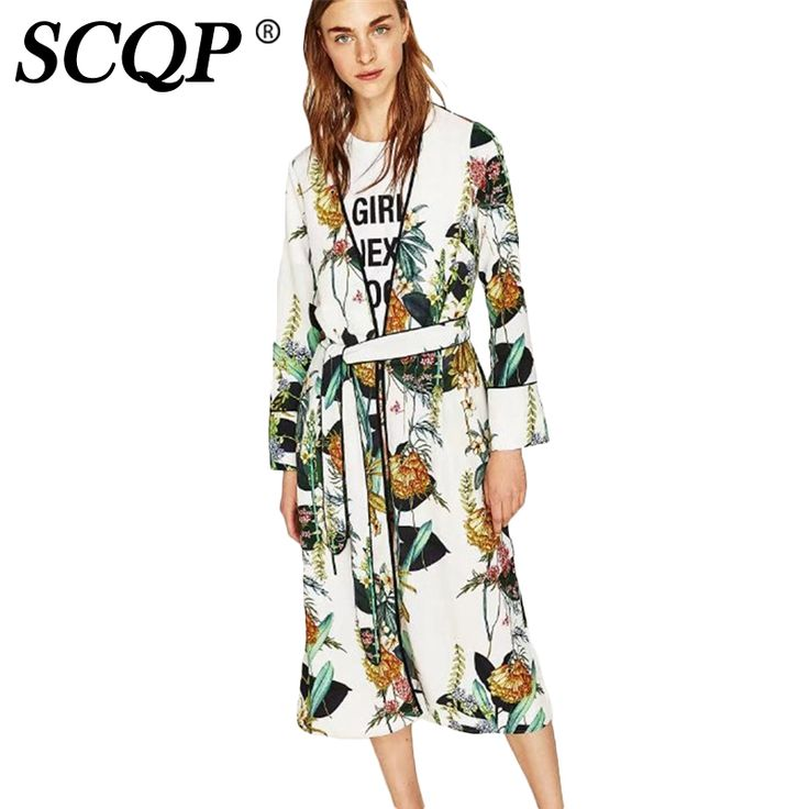SCQP Pinted Floral Bow Woman Kimono Cardigan Long Sleeve White Ladies Kimonos Elegant Ethnic Fashion 2017 Casual Women Tops-in Blouses & Shirts from Women's Clothing & Accessories on Aliexpress.com | Alibaba Group