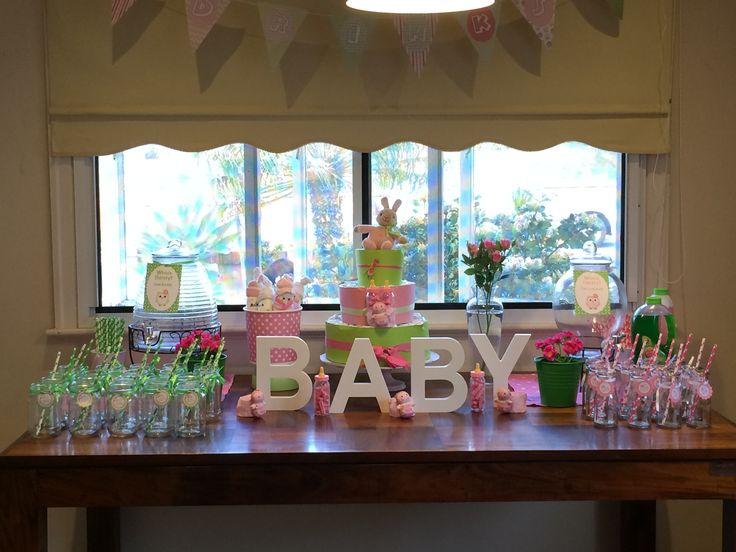 Julie's baby shower