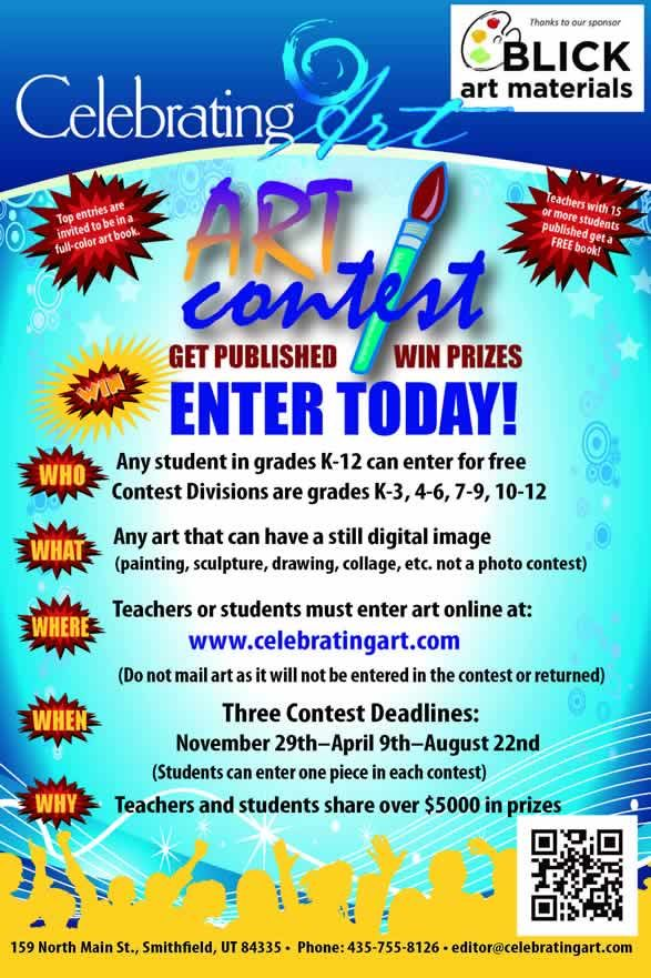 Classroom Competition Ideas ~ Art contest celebrating contests for students