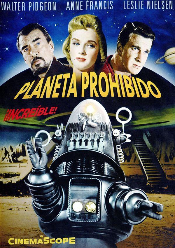Planeta prohibido (Forbidden Planet) es una película de ciencia ficción estadounidense de 1956 dirigida por Fred M. Wilcox. La película tiene un buen número de efectos especiales y constituye la primera aparición de Robby el robot. Los personajes y ambientación están inspirados por La Tempestad de Shakespeare. Robby, el robot, ha contribuido en buena medida al éxito del film. Tanto es así, que su presencia se extendió a otras películas, aunque fuese a modo de guiño.