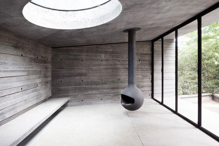 Villa Kaplansky, vouwdeuren door Deknock & Aerts