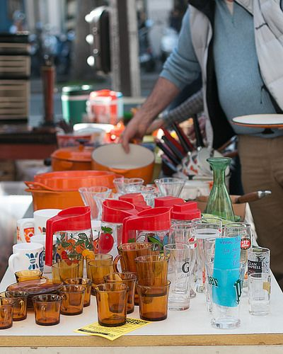 Tips and Tricks for Visiting Paris Flea Markets by David Lebovitz, via Flickr