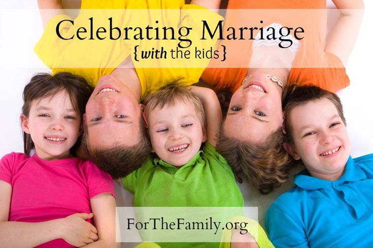 A mom describes how she and her husband teach their son to value marriage by occasionally taking him along with them on their anniversary celebrations.