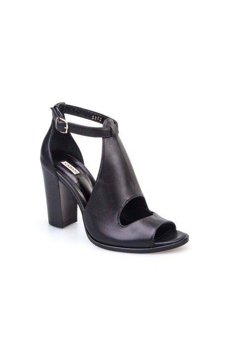 Cabani Cabani Kadın Ayakkabı Siyah Deri: Lidyana.com