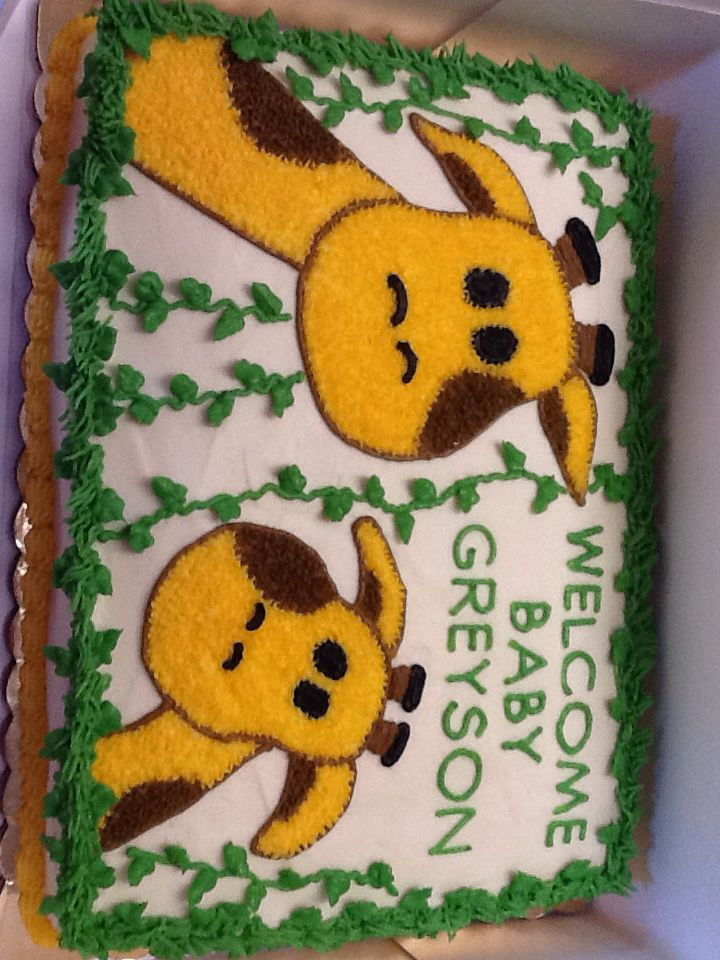 Giraffe cake                                                                                                                                                                                 More