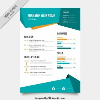 Abstract Curriculum Template