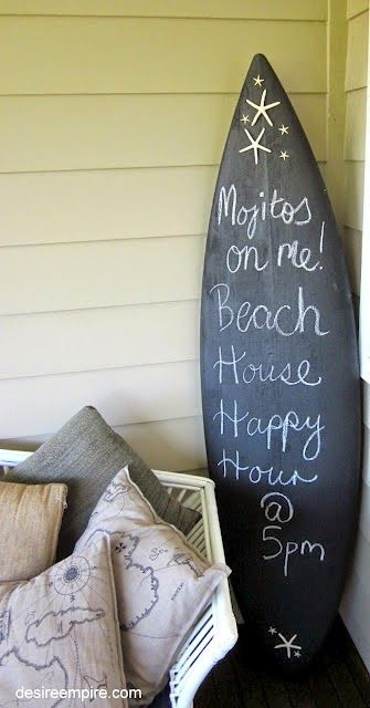 Everything Coastal....: 11 Ideas for Decorating with Surf Style!