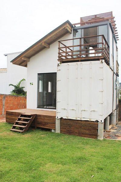 A casa container da Leila e do Ricardo - Minha Casa Container