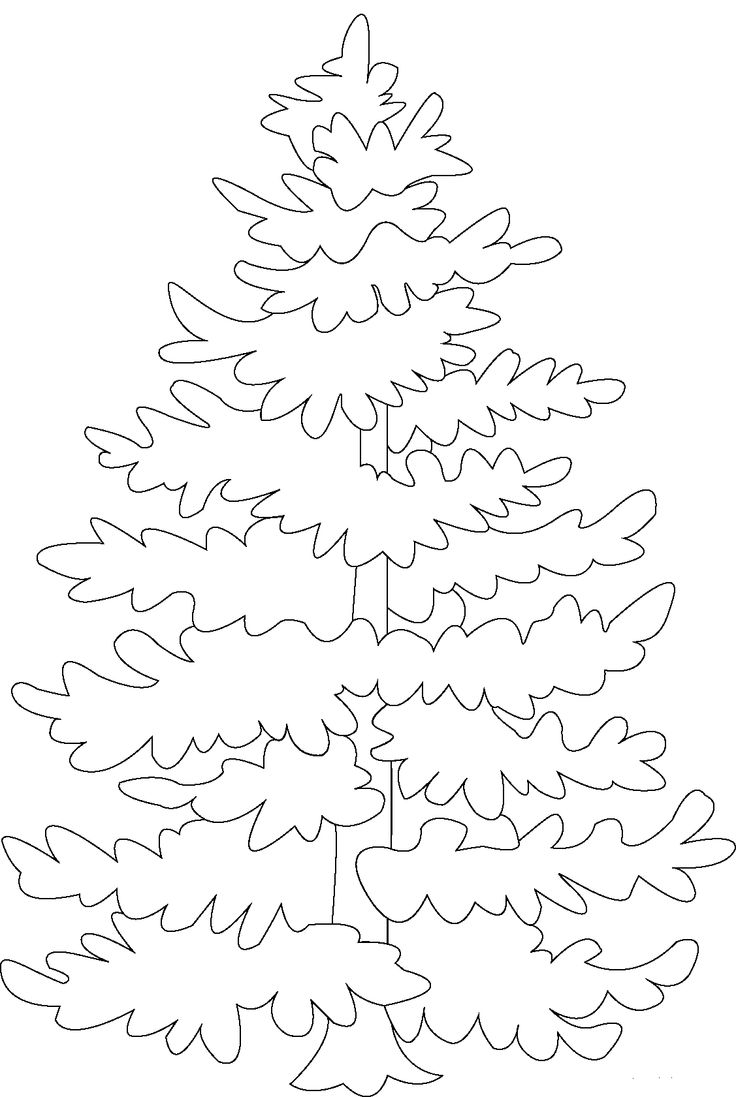 kids under pine trees coloring pages | Pine Tree Coloring Pages | Tree coloring page, Christmas ...