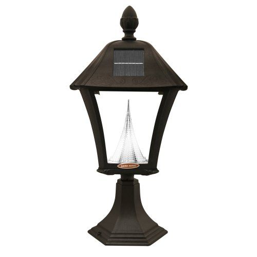 Gama Sonic Baytown Solar LED Light Fixture with Mounting Kit - Solar Spot Lights at Hayneedle
