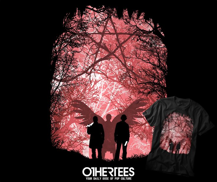 """""""FAMOUS HUNTERS"""" T-shirts, Tank Tops, V-necks, Hoodies and Sweatshirts are on sale until November 28th at www.OtherTees.com #tshirt #othertees #clothes #popculture #supernatural #winchester #deanwinchester #samwinchester #castiel"""
