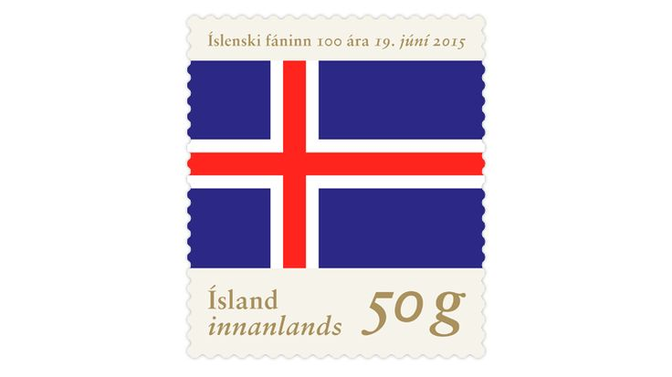 COLLECTORZPEDIA The Centenary of the Icelandic Flag