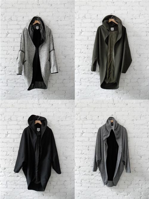 JF cocoon coats