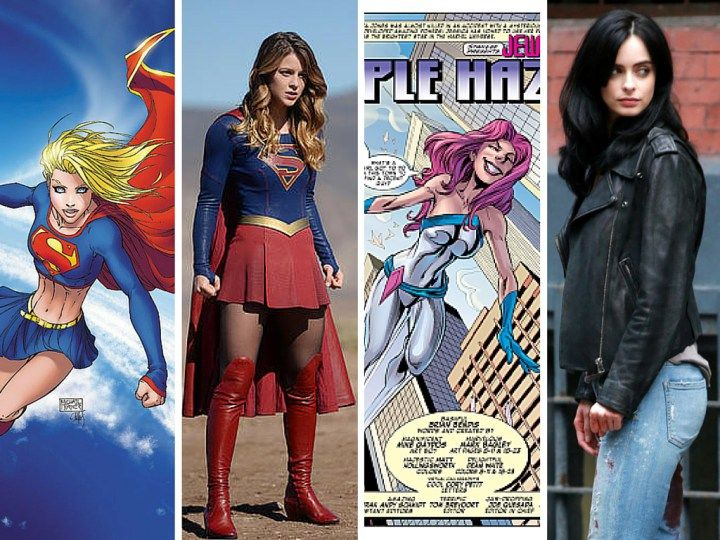 Les 25 meilleures id es de la cat gorie super h ros femme sur pinterest super train - Liste de super heros femme ...