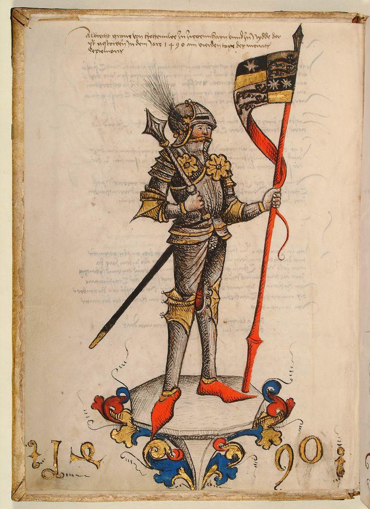 Graf Albrecht von Hohenlohe und Ziegenhain, 1490