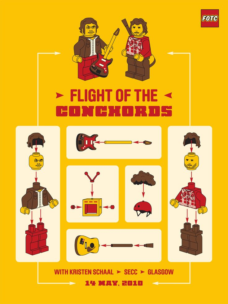 Flight of the Conchords by DKNG