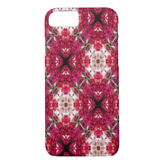Red Flower Abstract iPhone 7 Case