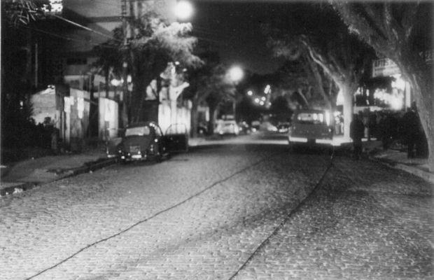 O Fusca onde Carlos Marighella foi morto pelo Dops em 1969 .