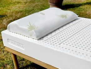Cuscino in 100% lattice per cervicale