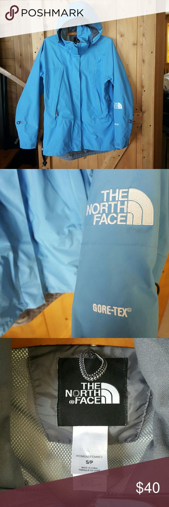 North Face Windbreaker or Raincoat North Face Windbreaker or Raincoat tag size small but runs a little bigger.  Great condition! North Face Jackets & Coats