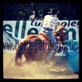 Federica Di Feo & Lenas Red Freckle :-) I'm a Italian barrel racer