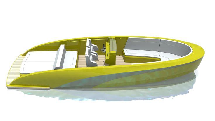 tender boat concept design for an aluminium tender boat. Black Bedroom Furniture Sets. Home Design Ideas