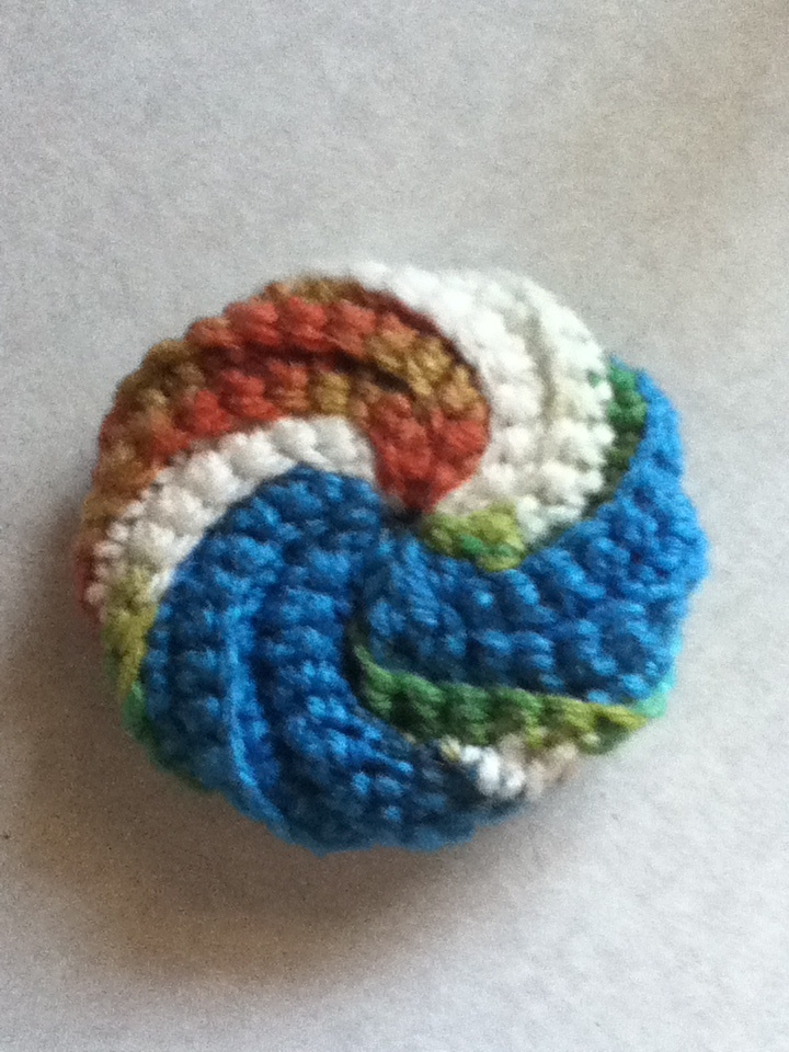 Crocheted Dish Scrubby!
