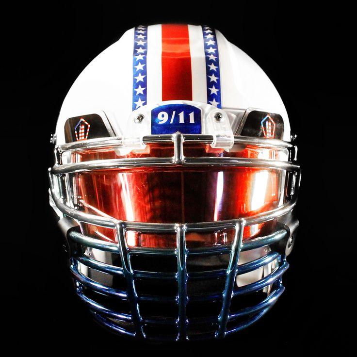 911 helmet created by green gridiron healy awards shoc