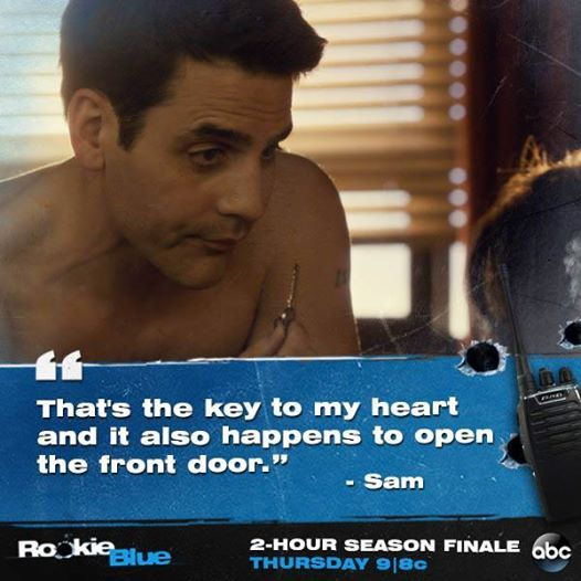 Rookie Blue Season 5 Episode 10 #McSwarek