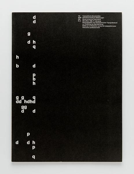 TM Typographische Monatsblätter, issue 3, 1958