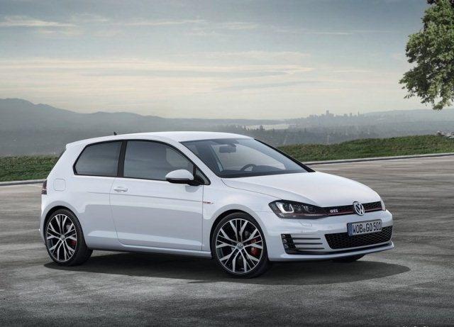 2014 VW GOLF GTI White