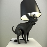 Good Boy: Pooping Dog LampLights, Modern Art, Puppies, The Artists, Dogs Lovers, Floors Lamps, Tables Lamps, Poop Dogs, Dogs Lamps