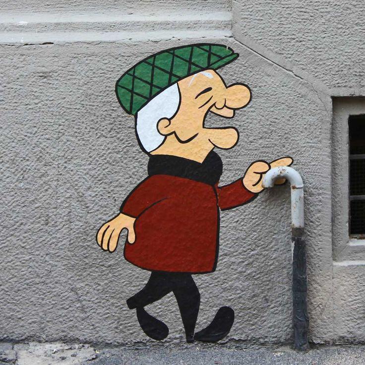 """""""Mr. Magoo"""" by Pao - photo from paopao.it;  in Milano - Isola, Italy"""