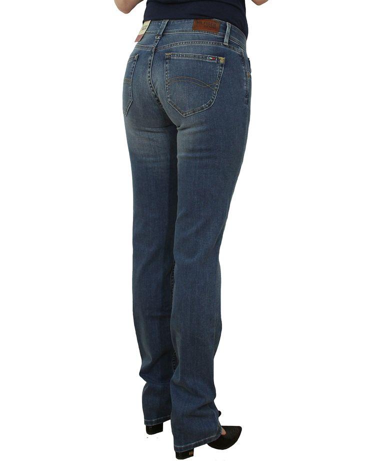 Spodnie Damskie TOMMY HILFIGER suzzy straight-niceville mid