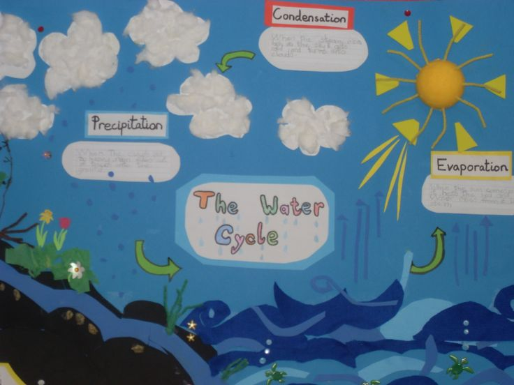 Water Cycle Model School Project Water Cycle School Project