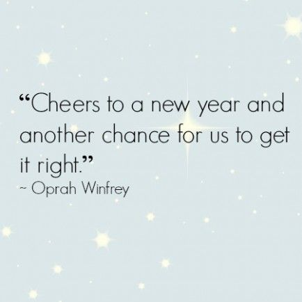 said a wise woman named Oprah