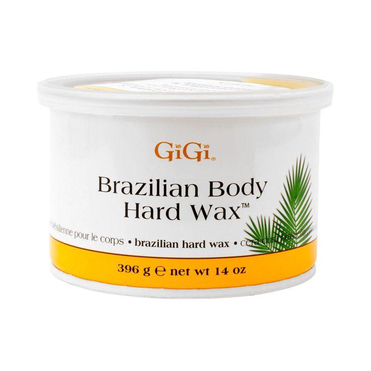 Cera Brazilian Bikini Wax de GiGi La cera dura brasileña para el cuerpo GiGi satisface las exigencias para una depilación perfecta de la línea del bikini